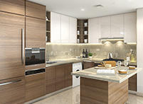 Open Kitchen Luxury
