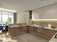 Kitchen Podium Villa