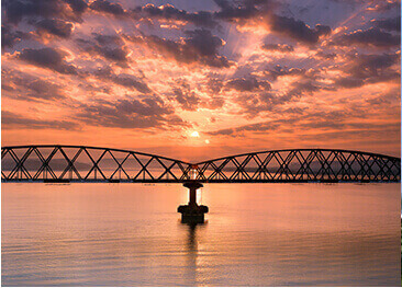 Zuari Railway Bridge, Goa