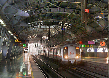 Barakhamba Road Metro Station, New Delhi