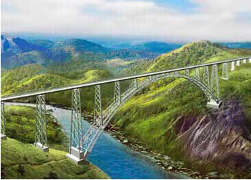 Arch Bridge – Chenab Bridge, Jammu and Kashmir